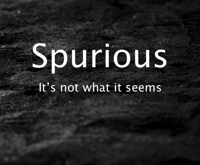 Spurious Faith