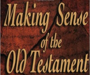 Making Sense of the Old Testament | A Book Review