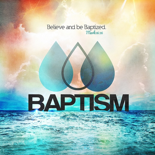 Christian, Be Baptized!