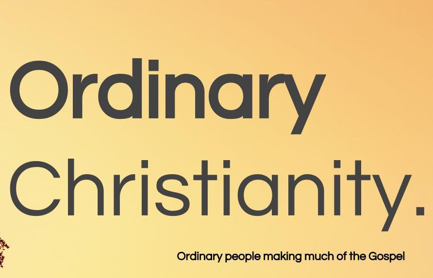 Have you tried doing 'Ordinary Christianity?'