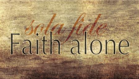 Faith Alone