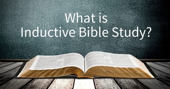 Introducing​ Inductive Bible Study