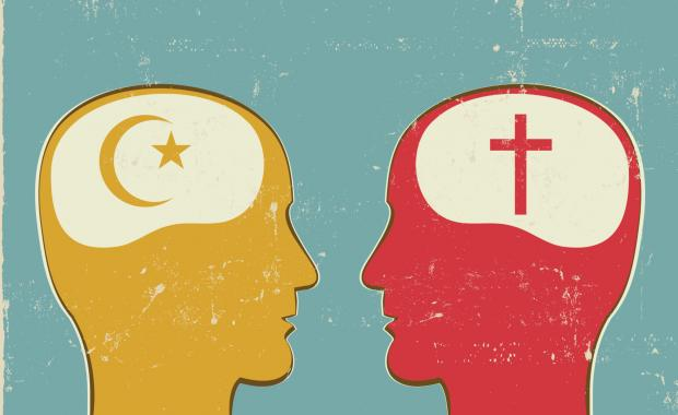 A Muslim & A Christian discuss belief